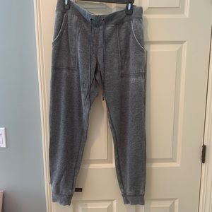 Cozy joggers with fleece lining